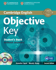 Учебник за подготовка за изпит и серификат Cambridge KET A2 Key