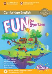 Учебник за подготовка за сертификат на Cambridge - изпит YLE Starters