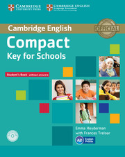 Key for schools for covering Cambridge KET Certificate