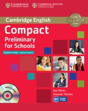Учебник Cambridge PET for schools