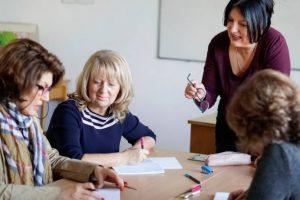 Corporate English language training