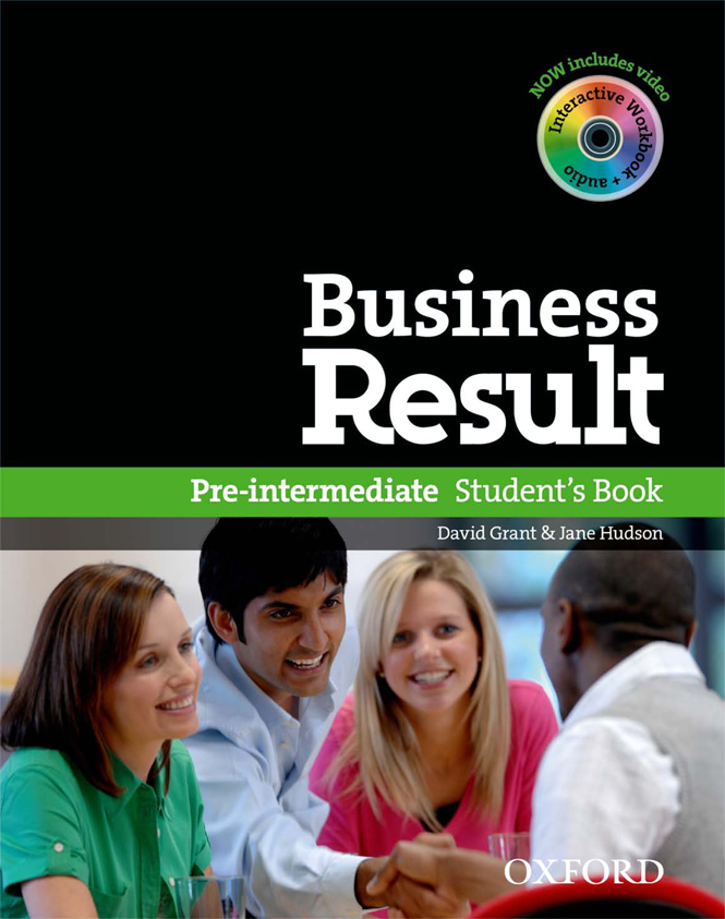 Business Result Pre-Intermediate - Business English Text Book