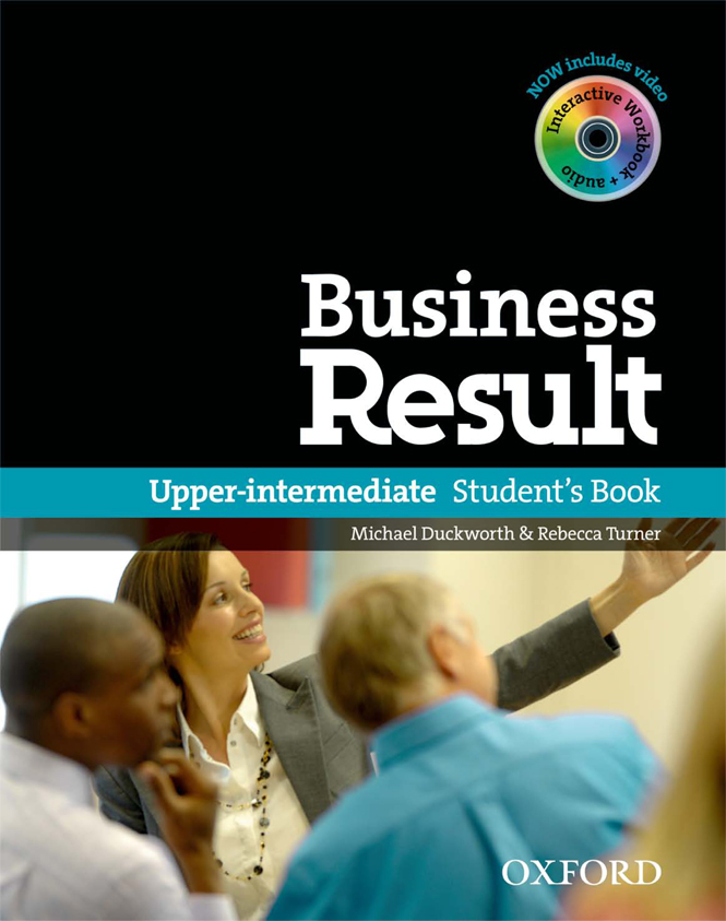Business English Text Book- Upper-intermediate
