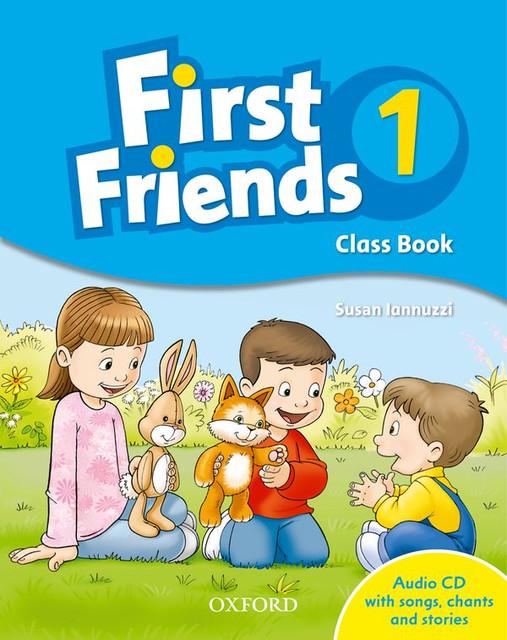 First Friends class book for children in 6-7th grade
