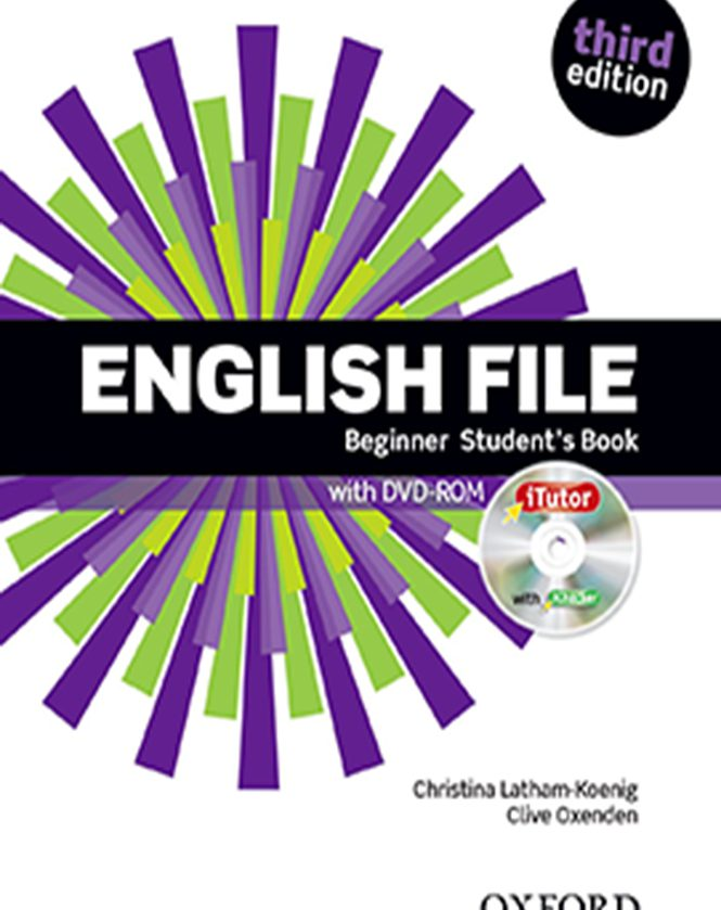 English file Beginner - English Student's Book for adults
