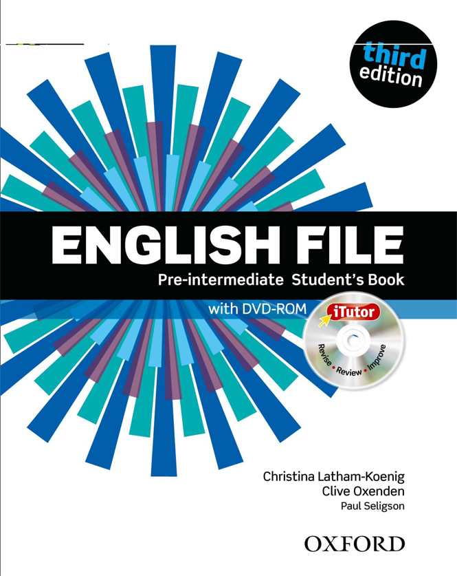 English file Pre-intermediate - Student's Book