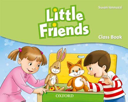 Little Friends - English Class book for preschoolers