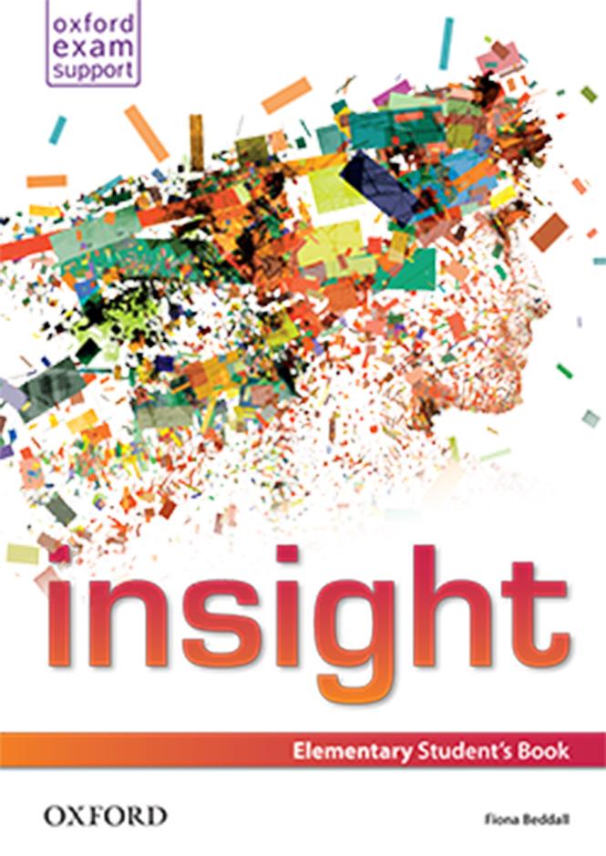 Учебник по английски език за 8ми клас - Insight, Oxford