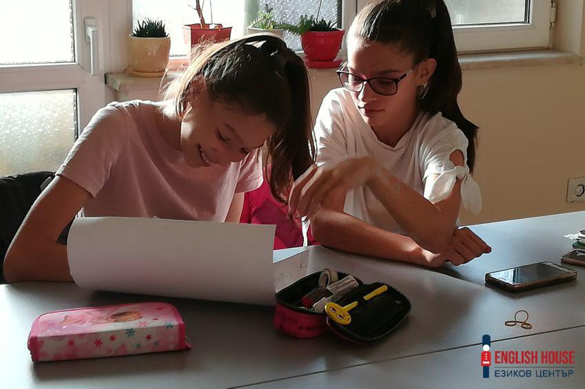 Интензивни уроци по английски за деца от всички възрасти - езиков център English House